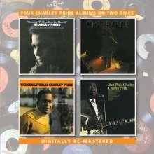 Charley Pride: The Sensational Charley Pride / Songs Of Pride / Just Plain Charley, 2 CDs