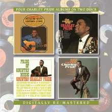 Charly Pride: Country Charley Pride/The Country Way/Pride Of Country Music/Make Mine Country, 2 CDs