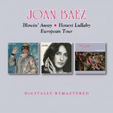 Joan Baez: Blowin Away/Honest Lullaby/European Tour, 2 CDs