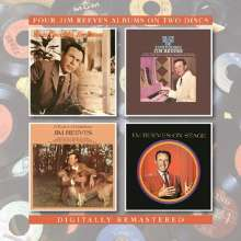 Jim Reeves: Yous Sincerely/Blue Side Of Lonesome/A Touch Of Sadness/On Stage, 2 CDs