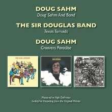 Doug Sahm: Doug Sahm & Band/Texas Tornado/Groovers Paradise, 2 CDs