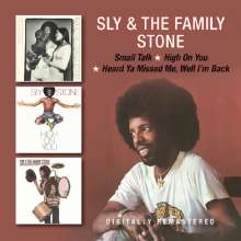 Sly & The Family Stone: Small Talk / High On You / Heard Ya Missed Me, Well I'm Back, 2 CDs
