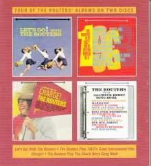The Routers: Let's Go! / Play 1963's Great Instrumental Hits / Charge! / Play The Chuck Berry Song Book, 2 CDs