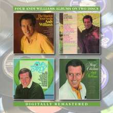 Andy Williams: Shadow Of Your Smile / Merry Christmas / Born Free / Love, Andy, 2 CDs
