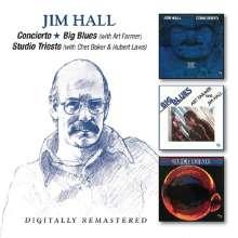 Jim Hall (1930-2013): Concierto / Big Blues / Studio Trieste, 2 CDs