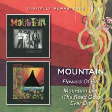 Mountain: Flowers Of Evil / Mountain, 2 CDs