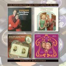 Dolly Parton & Porter Wagoner: Just Between You And Me / Always, Always / Porter Wayne And Dolly Rebecca / Love And Music, 2 CDs