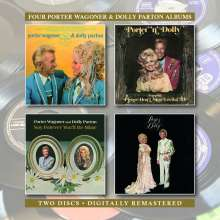 Dolly Parton & Porter Wagoner: We Found It / Porter 'n' Dolly / Say Forever You'll Be Mine / Porter & Dolly, 2 CDs