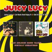 Juicy Lucy: Juicy Lucy / Lie Back And Enjoy It / Get A Whiff, 2 CDs