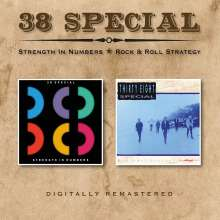 38 Special: Strength In Numbers / Rock & Roll Strategy, 2 CDs