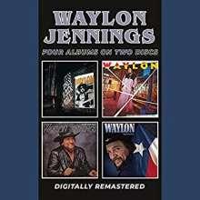Waylon Jennings: Four Albums On Two Discs, 2 CDs