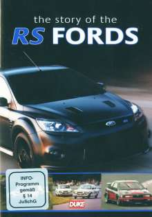 Ford RS The history of Ford's, DVD