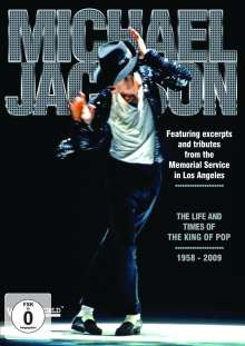 Michael Jackson: The Life And Times Of The King Of Pop 1958-2009, DVD