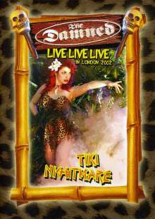 The Damned: The Nightmare: Live In London 2002, DVD