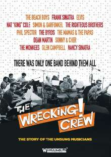 The Wrecking! Crew: The Story Of The Unsung Musicians, 2 DVDs