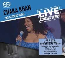 Chaka Khan: One Classic Night: Live, 1 CD und 1 DVD