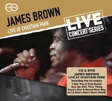 James Brown: Live At Chastain Park, 1 CD und 1 DVD