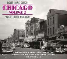 Down Home Blues Chicago 2, 5 CDs