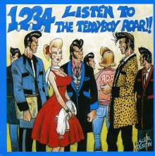1, 2, 3, 4 Listen To Teddyboy Roar !!, CD