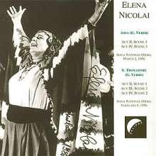 Elena Nicolai in Opera, CD