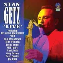 Stan Getz (1927-1991): Live, CD