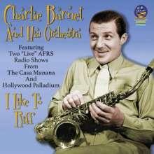 Charlie Barnet (1913-1991): I Like To Riff, CD