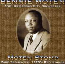 Benny Kansas Moten: Moten Stomp, CD