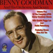 Benny Goodman (1909-1986): Vol. 5-Afrs Benny Goodman Show, CD