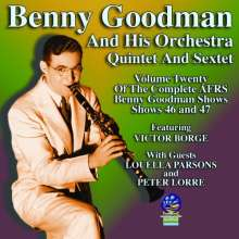 Benny Goodman (1909-1986): AFRS Shows Volume Twenty, CD