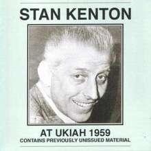 Stan Kenton (1911-1979): At Ukiah 1959, CD