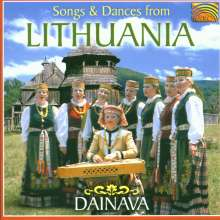 Litauen - Dainava: Songs And Dances From Lithuania, CD