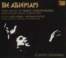 The Athenians: Canto General, CD