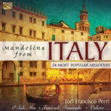 Joël Francisco Perri: Mandolins From Italy, CD