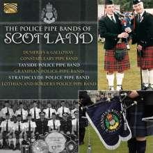 Unterhaltungsmusik/Schlager/Instrumental: The Police Pipe Bands Of Scotland, CD