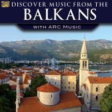 Discover Music From The Balkans, CD