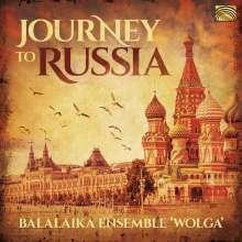Balalaika Ensemble Wolga: Journey To Russia, CD