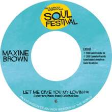 """Maxine Brown: Let Me Give You My Lovin'/One In A Million, Single 7"""""""