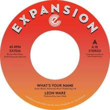 """Leon Ware: What's Your Name/Inside Your Love, Single 7"""""""