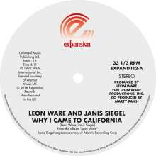 Leon Ware: Why I Came To California/Can I Touch You There, Single 12""