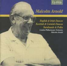 Malcolm Arnold (1921-2006): Scottish, Irish, Cornish & English Dances, CD