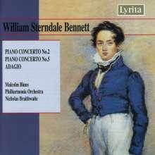 William Sterndale Bennett (1816-1875): Klavierkonzerte Nr.2 & 5, CD