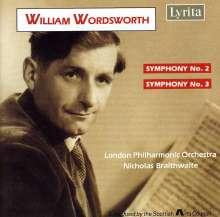 William Wordsworth Brocklesby (1908-1988): Symphonien Nr.2 & 3, CD