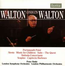 William Walton (1902-1983): Sinfonia Concertante, CD