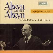 William Alwyn (1905-1985): Symphonien Nr.1 & 4, CD