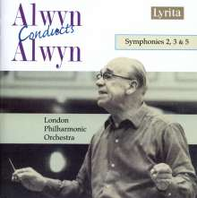 William Alwyn (1905-1985): Symphonien Nr.2,3,5, CD