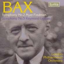 Arnold Bax (1883-1953): Symphonien Nr.2 & 5, CD