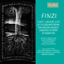 """Gerald Finzi (1901-1956): Music for """"Love's Labour's Lost"""" für Streichorchester, CD"""