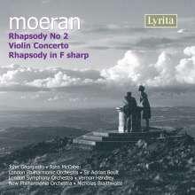Ernest Moeran (1894-1950): Violinkonzert, CD