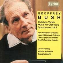 Geoffrey Bush (1920-1998): Symphonien Nr.1 & 2, CD
