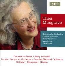 Thea Musgrave (geb. 1928): Konzert für Orchester, CD